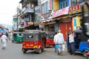 Street scene in Gampola