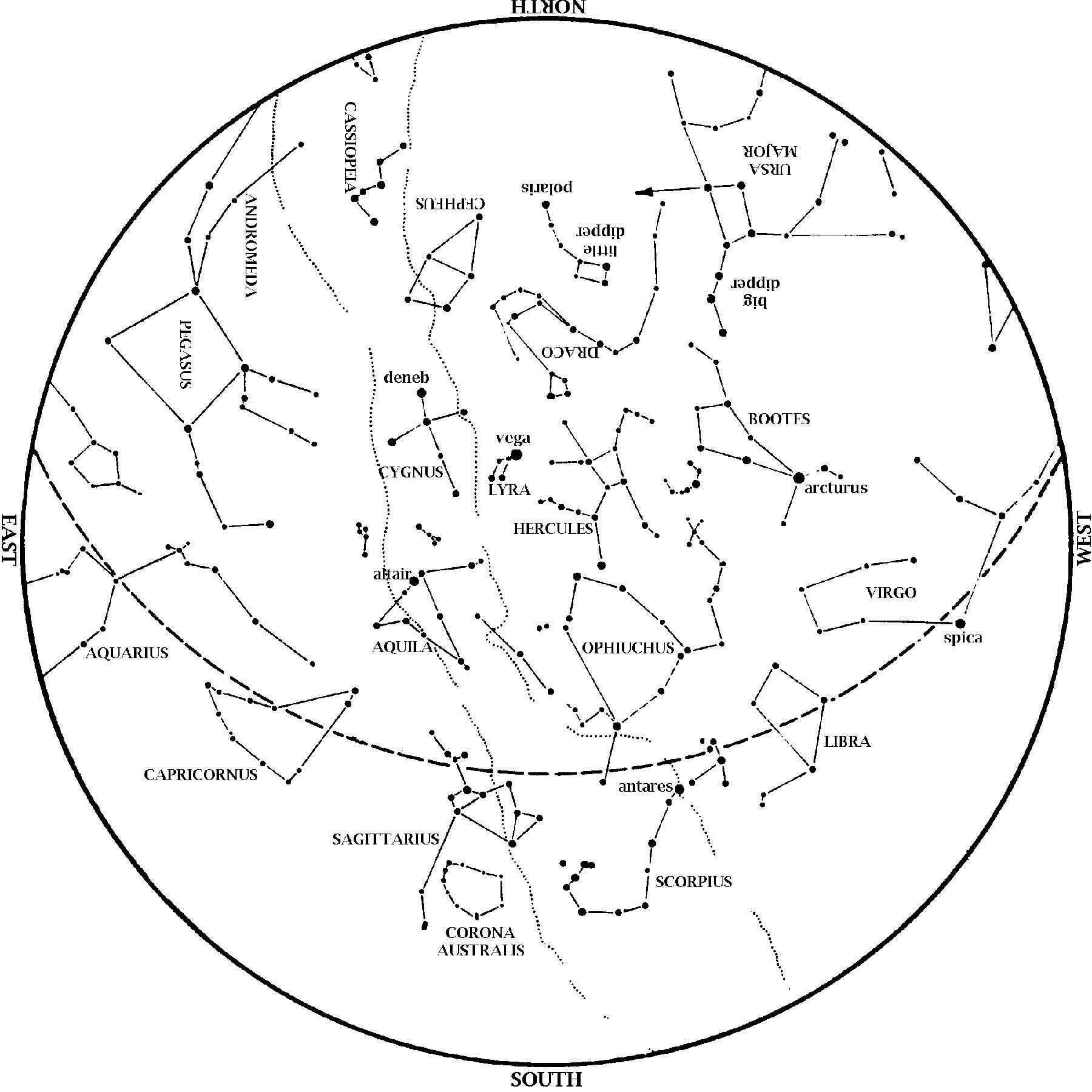 Star Chart August 2014