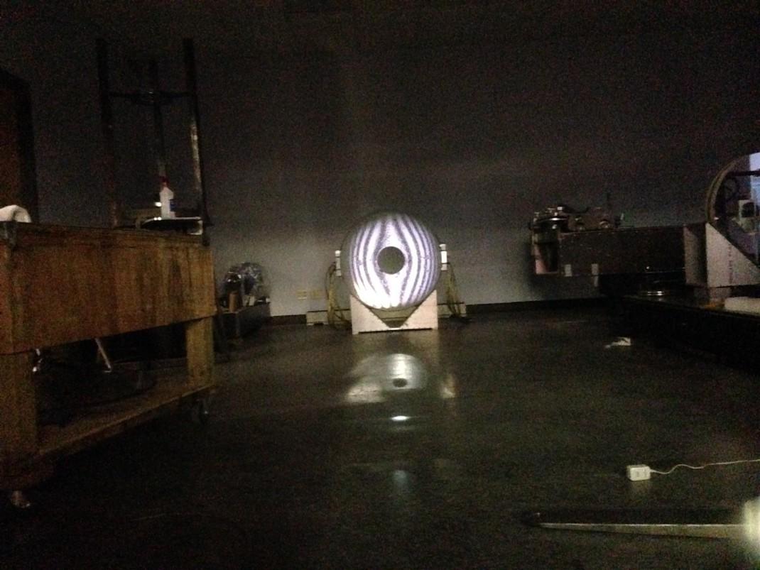 George Observatory Mirror Grind 2