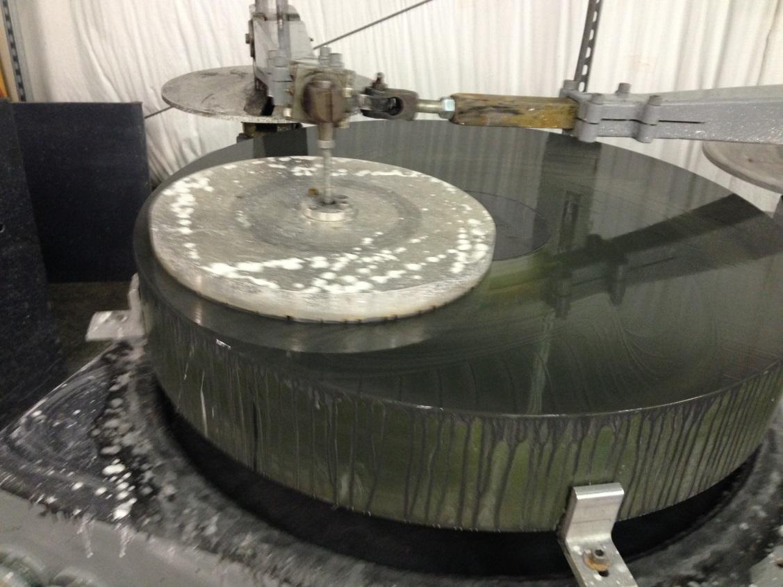 George Observatory Mirror Grind 3