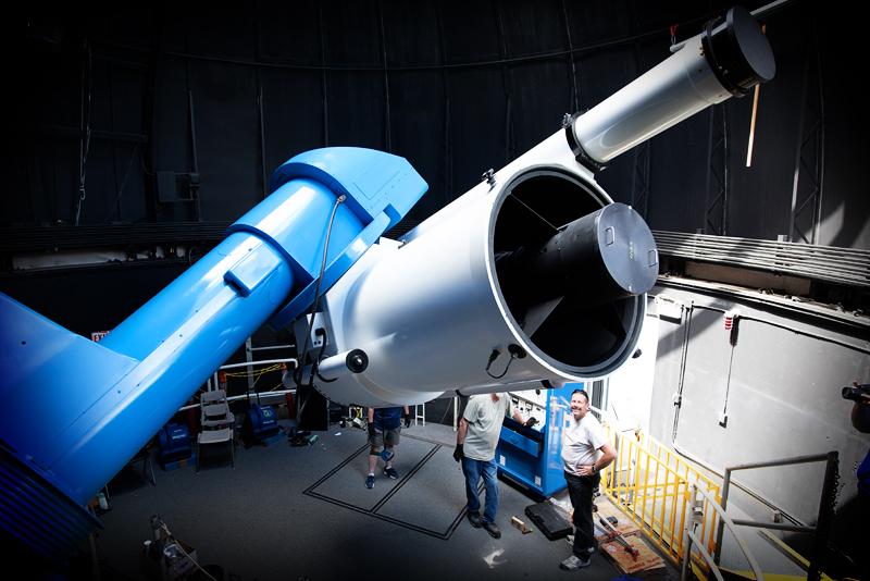 The Gueymard Research Telescope, a 36-inch Ritchey—Chretien Cassegrain.