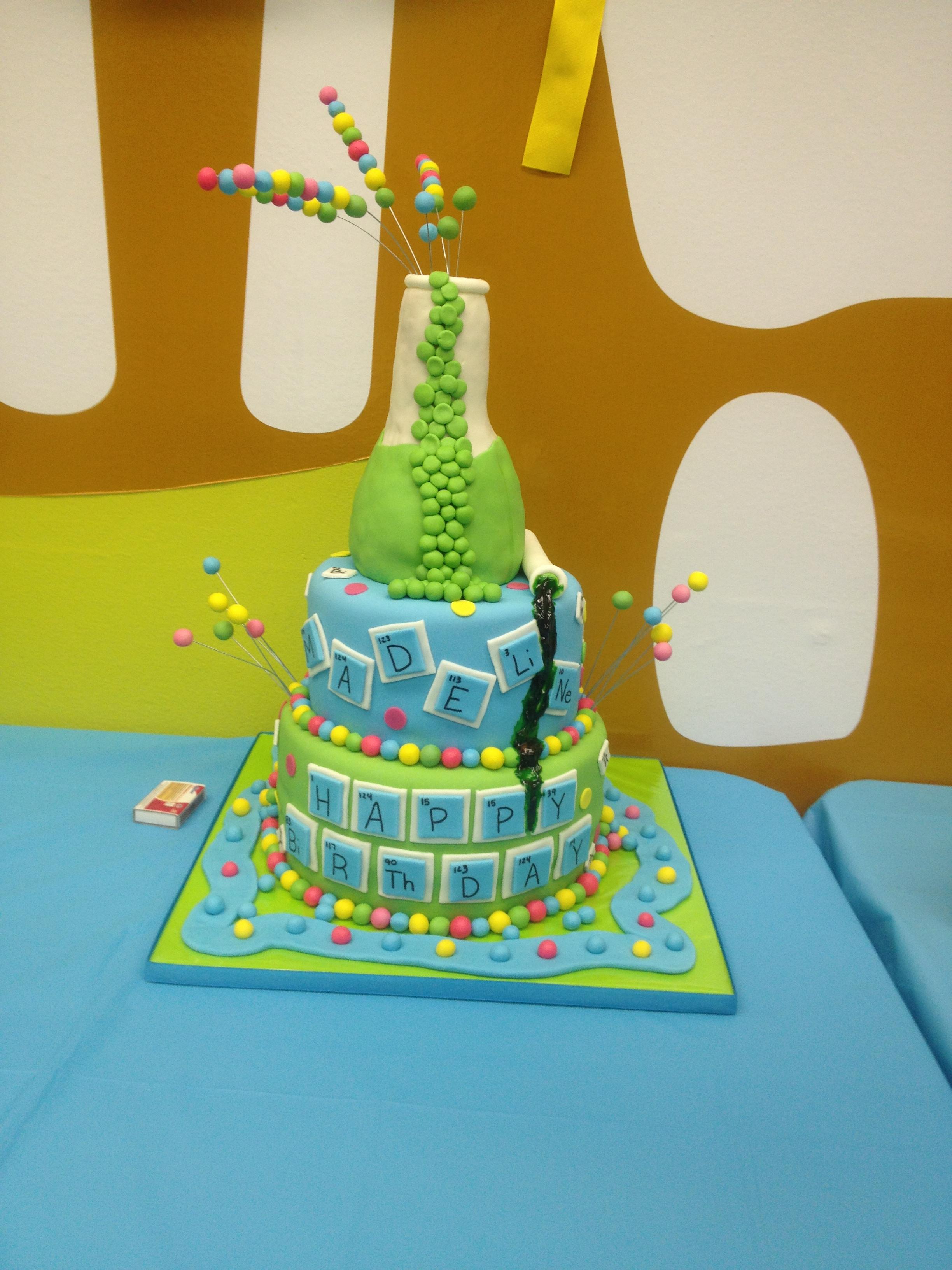 Chemistry cake