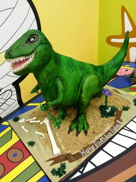Dino Cake by Gina