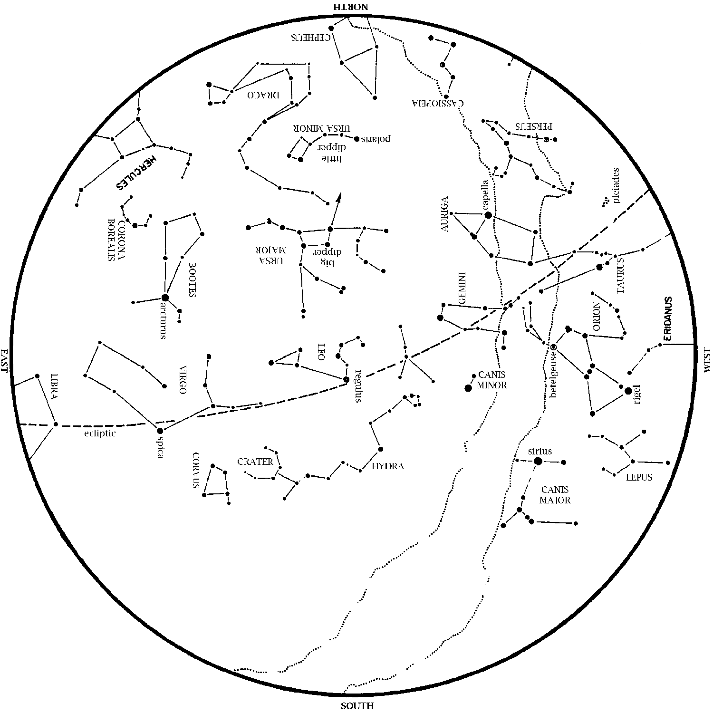Starmap April