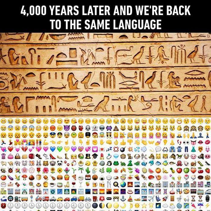 Are Emojis The Same As Hieroglyphs? | BEYONDbones